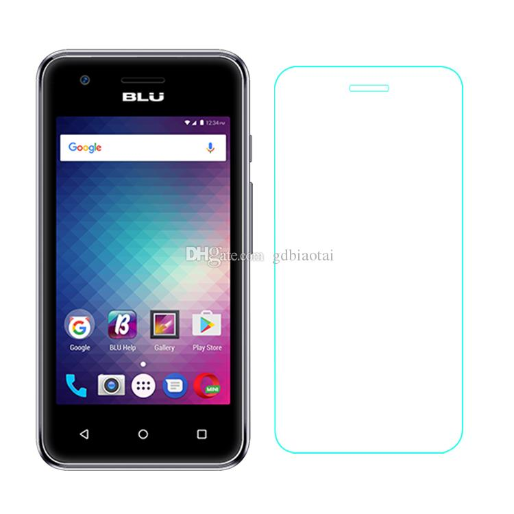 High Quality Tempered Glass Screen Protector 0.3mm 2.5D Tempered Glass Film Explosion-proof and Anti-scratch For BLU Dash L3 D930U