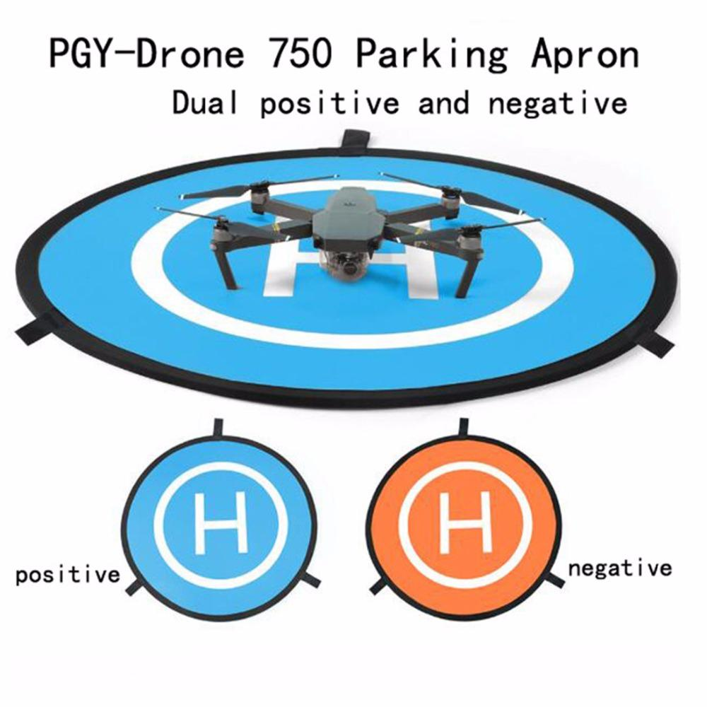 Portable Parking Apron RC Drone Quadcopter Fast-fold Landing Pad Tarmac Parking For DJI Phantom 2 3 4 Inspire 1