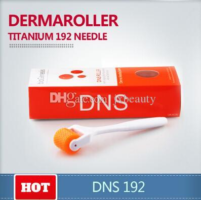 DNS Tianium biogenesis Microneedle Derma Roller 192 needles DNS Derma Rolling System For Skin Care Various Size