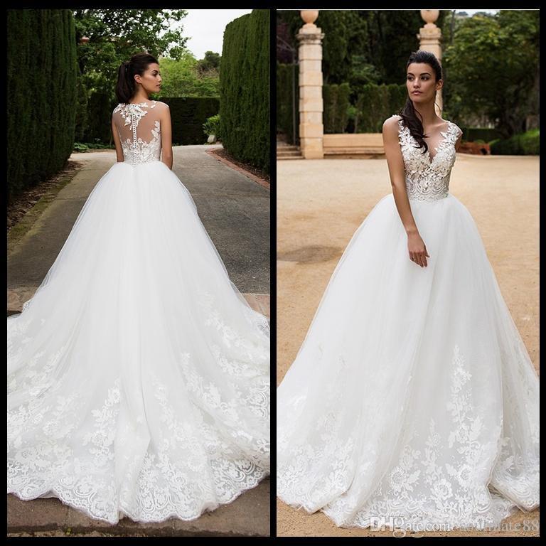 Discount Vintage Dea Casamento Dp 2017 Wedding Dresses A Line