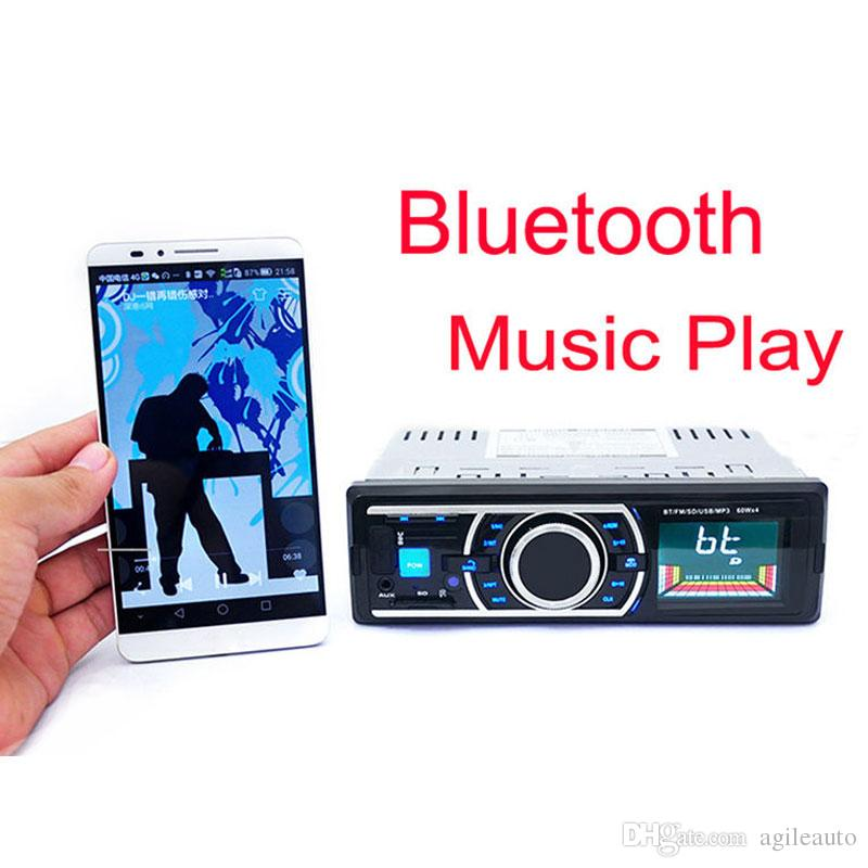 Bluetooth Car Radio Stereo 1 DIN InDash Auto FM Aux In Receiver Audio MP3 Player Support SD USB + Remote Control CAU_00A