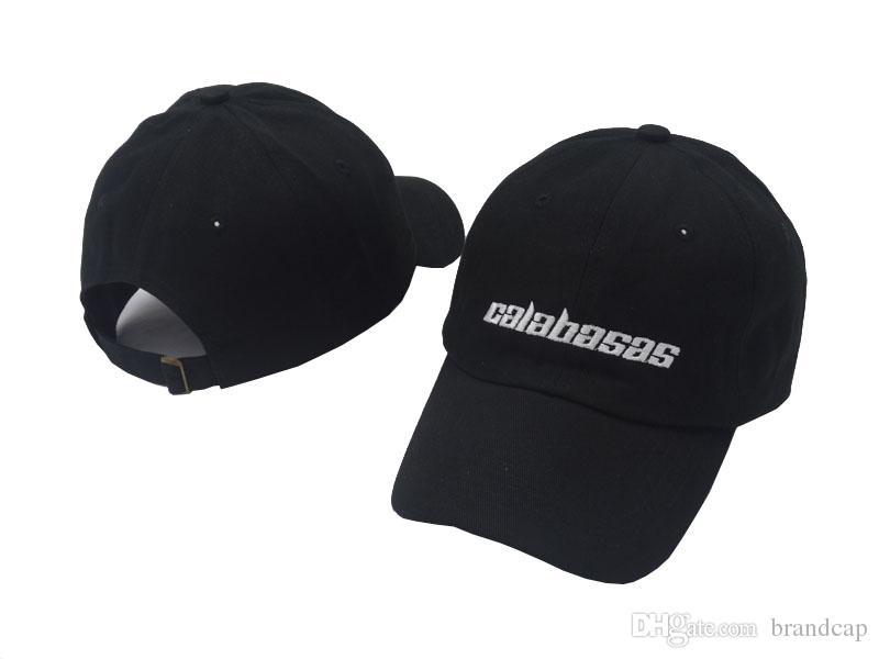 f6b45ee72b1 New Dad Cap Calabasas Hat Snapback Caps Baseball Hats Adjustable Hat Flat  Cap Trucker Hats From Brandcap