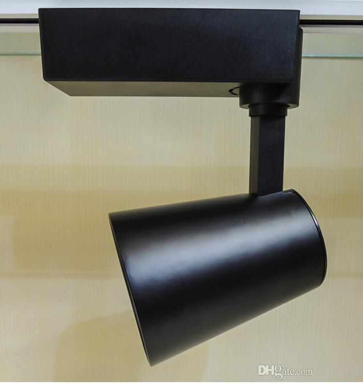 Prezzo all'ingrosso Moderna lampada a binario a LED 20W Caldo freddo bianco negozio di abbigliamento vetrine showroom spotlight COB LED spot lampada a binario