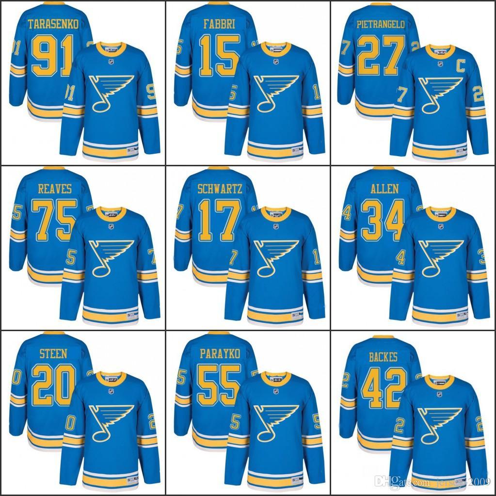 2019 Men S Youth 2017 Winter Classic St. Louis Blues 27 Alex Pietrangelo 91  Vladimir Tarasenko 17 Jaden Schwartz 34 Jake Allen Hockey Jerseys From  Jersey ... afd34fd4f