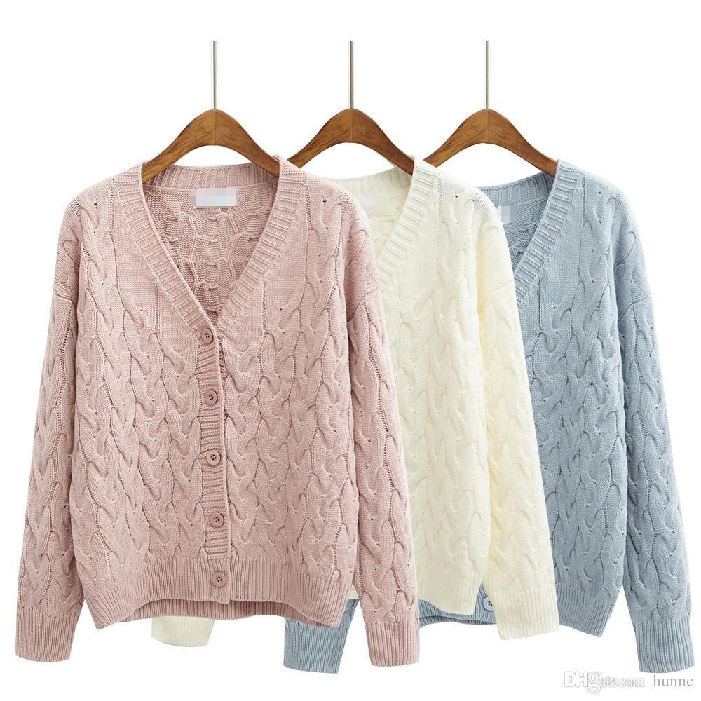 2018 Wholesale Harajuku Sweaters Women 2016 Korean Style Cute ...