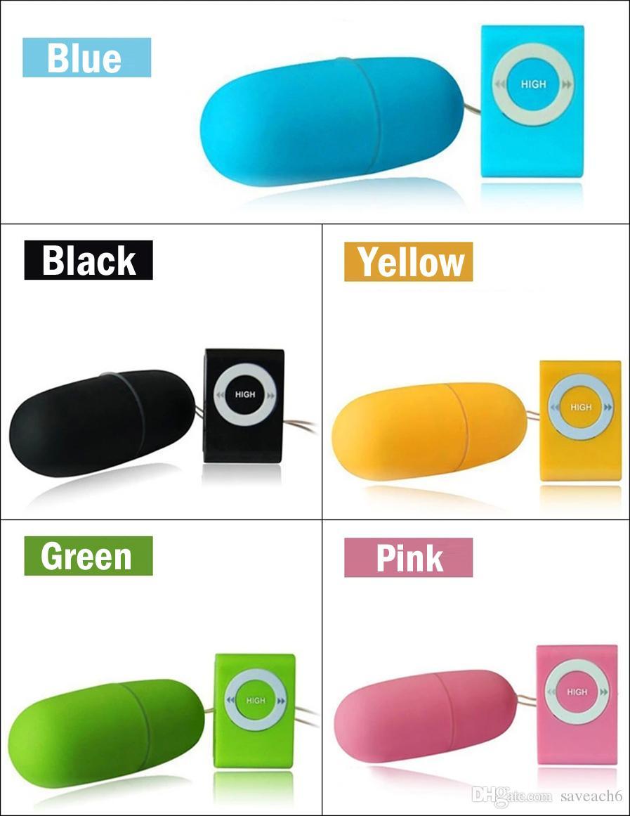 20 Modi Wasserdichte Tragbare Fernbedienung Drahtlose MP3 Vibrator Ei Vibrator Klitoris G-punkt Stimulatoren Sexspielzeug für Frauen