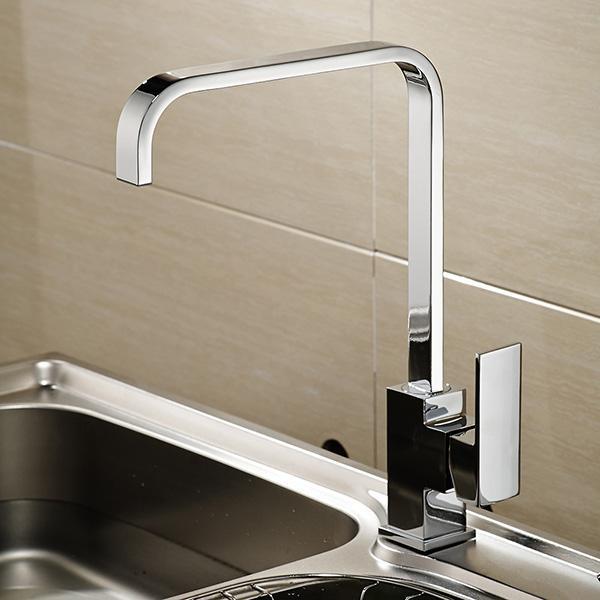 2018 Kitchen Sink Faucet Modern Pot Filler Deck Mounted