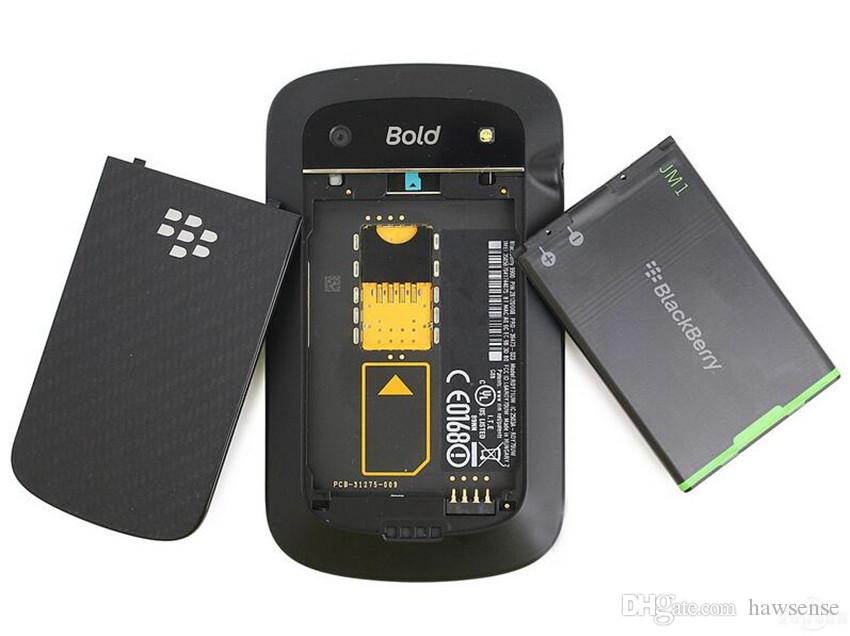 Refurbished Original Blackberry Bold 9900 3G Mobile Phone 2.8 inch 8GB ROM 5MP Camera WIFI GPS Touch Screen + QWERTY Phone Free Post