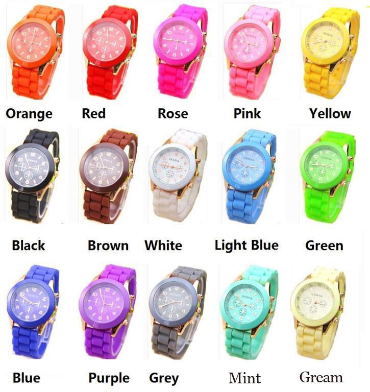 01820c014a98 Compre Top Moda Para Hombre Y Mujer Relojes Ginebra Reloj Jalea Caramelo De  Goma Unisex Relojes De Pulsera De Cuarzo De Silicona A797 A  1.53 Del  Lihaoyx ...