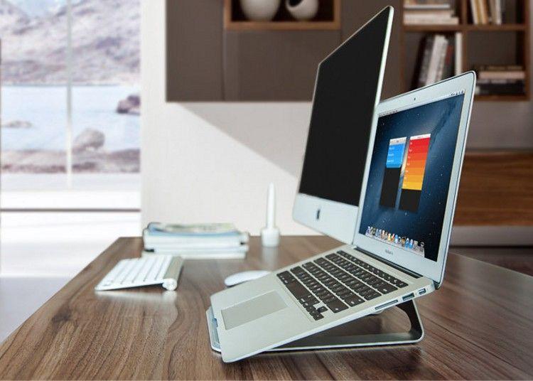 Laptop Stand Alumínio Laptop Tablet Suporte Titular Docking Station Cradle  Anti-derrapante para Lenovo HP ThinkPad MacBook Air Pro iPad