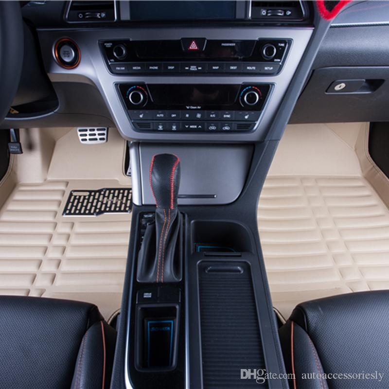 2019 High Quality Car Floor Leather Materials Car Carpet Mats