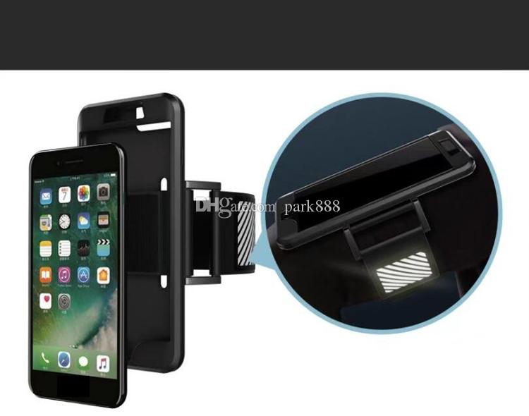 uk availability c54c2 439cb Sports Armband Running Case For Iphone 5 6 7 Samsung S7 edge note7 Running  bag Workout Armband Holder Pounch Cell Mobile Phone Arm Band Bag