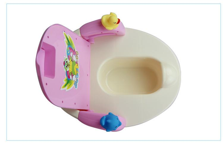 CCC Certification Baby Potty Training Toilet Plastic Non-slip Kids Toilet Seat Travel Potty Chair Large size toilet for children Maximum lo