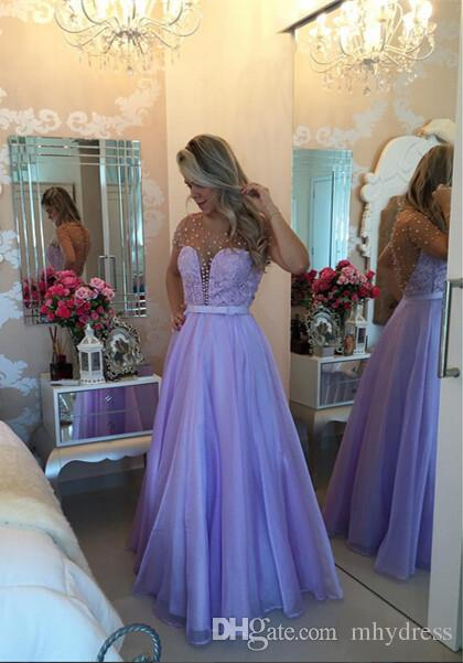 Vintage Fitted China Prom Dresses 2017 Illusion Imported Party Dress Satin A-Line Formal Women Evening Gowns