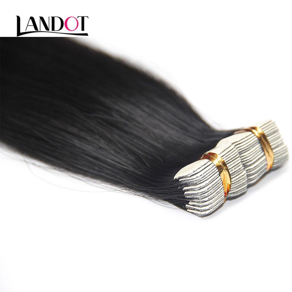 Самый лучший лента девственницы Remy 10A 150g в выдвижениях человеческих волос полной кутикулы первоначально бразильская перуанская индийская малайзийская кожа утки волос ленты PU