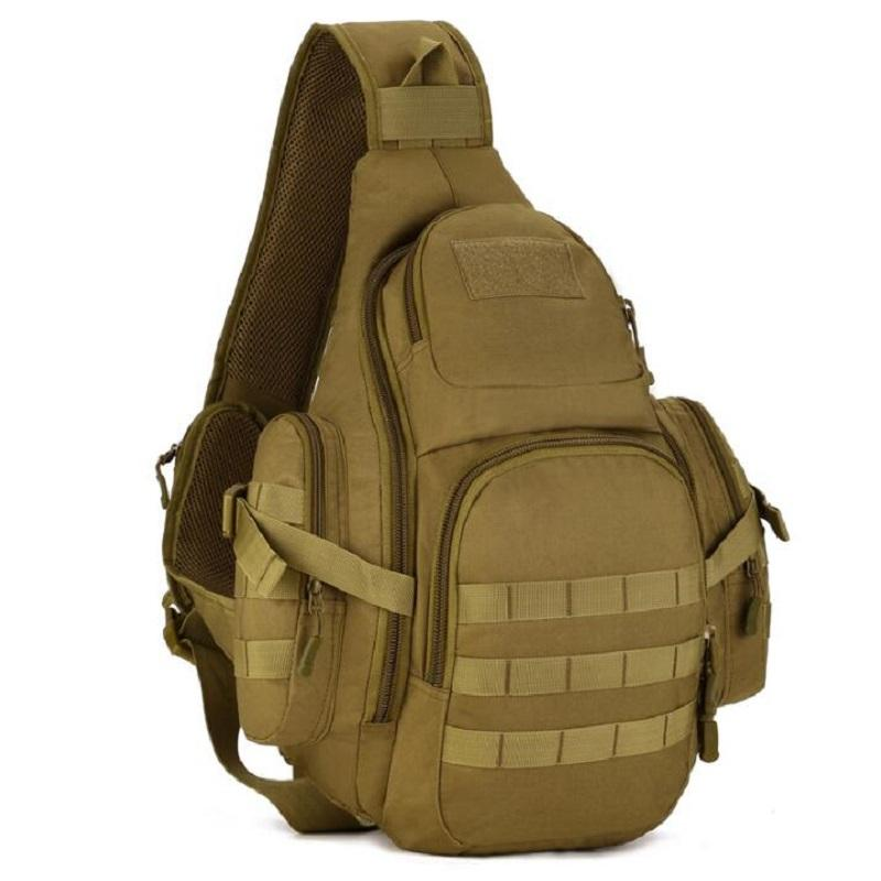 Climbing Bags Women Messenger Bag Outdoor Travel Sport Nylon Military Chest Pack Cross Body Sling Single Shoulder Men Tactical Chest Bag Sports & Entertainment