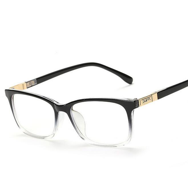 f752ace3a26 2019 Wholesale Fashion Square Eyeglasses Retro Men 2016 Eye Glasses Frames  Optical Women Computer Plain Glass Frame Oculos De Grau Spectacles From  Jilihua