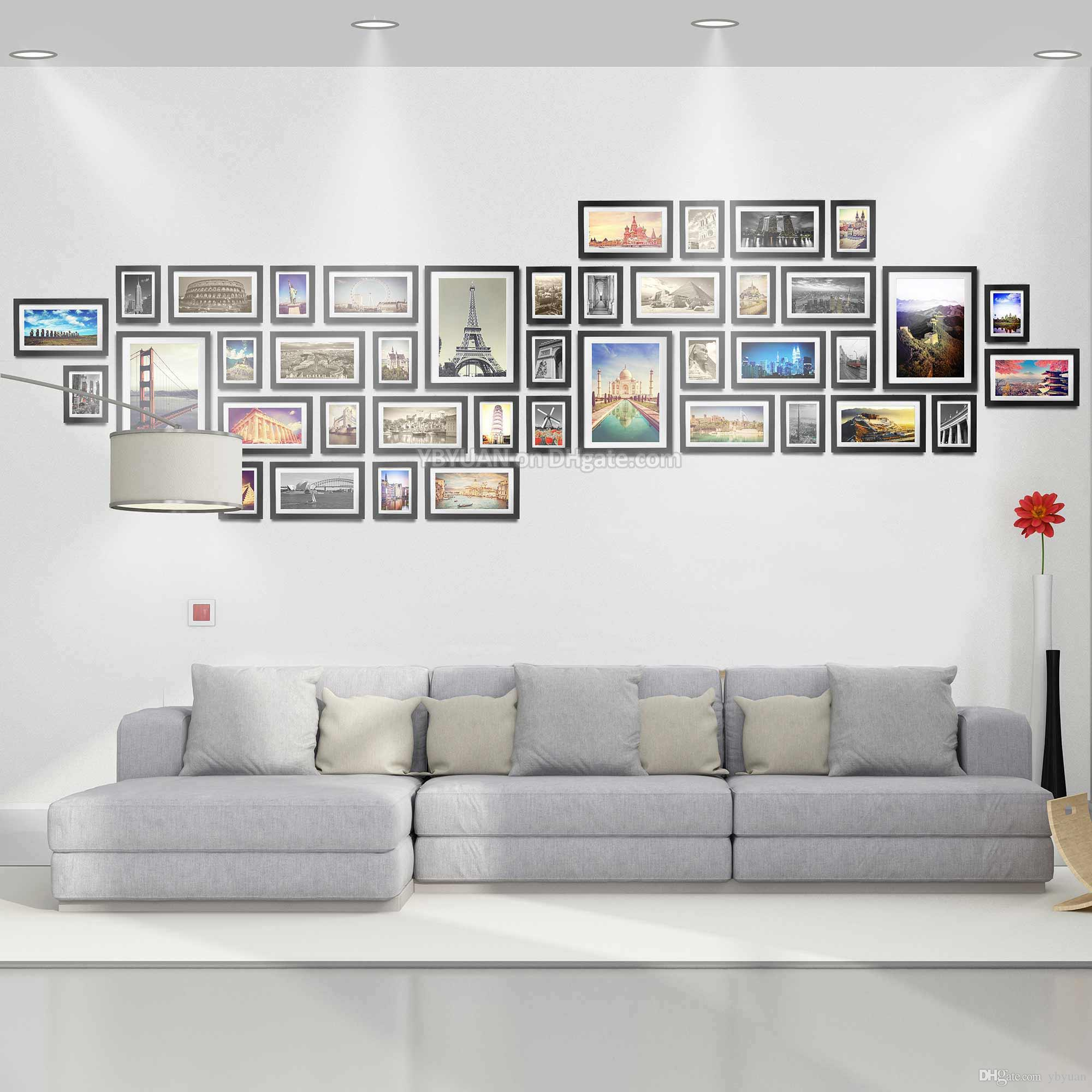Ultra Large Classic Photo Wall Wooden Frames Combination 7/12/16 ...