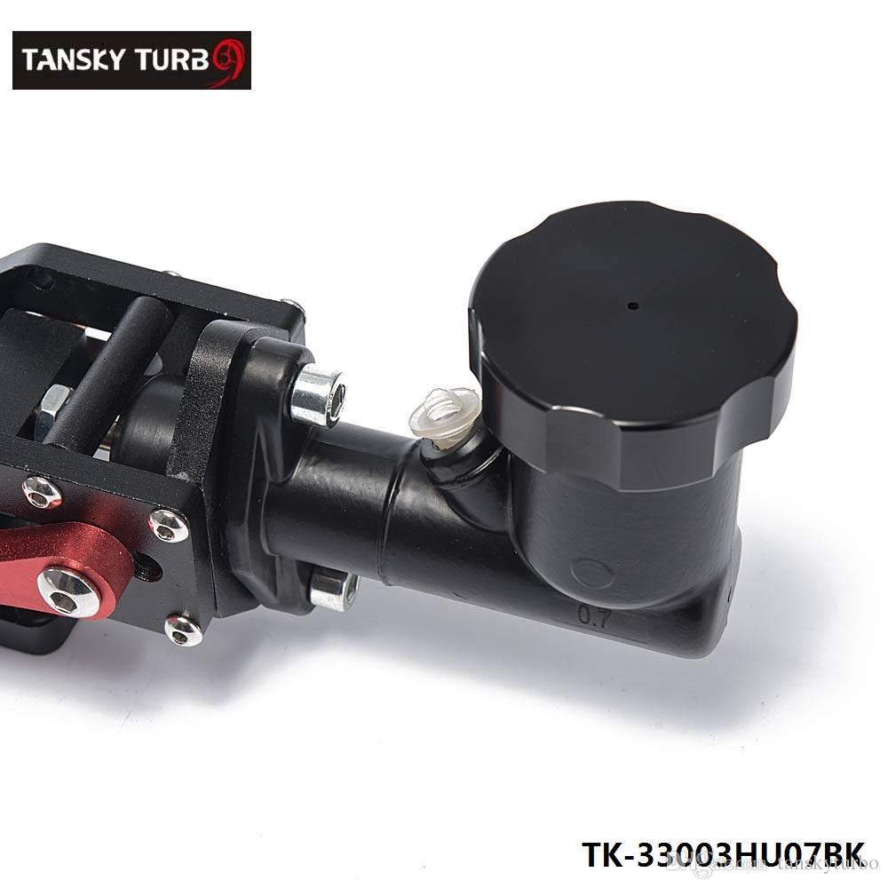 Tansky - Black Hydraulic Racing Hand E Brake Drift Rally Handbrake Aluminium Lever Oil Tank Cylinder TK-33003HU7BK