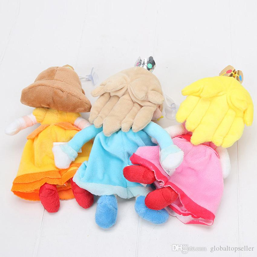 8'' 20cm New Super Mario Bros. Plush Princess Peach Daisy Rosalina Soft Toy Stuffed Animal Doll