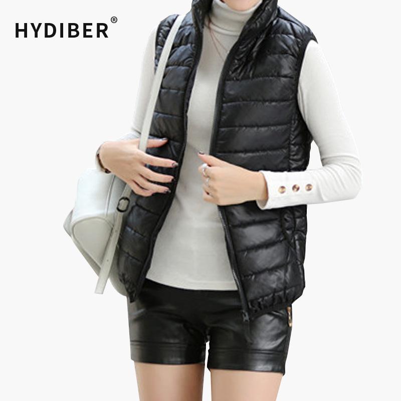 f2acb4204633a Wholesale Plus Size Women Sleeveless Jacket Winter 2015 Korean Cotton  Regular Paragraph Slim Coat Z9 Team Jackets Green Bomber Jacket Womens From  Hoeasy
