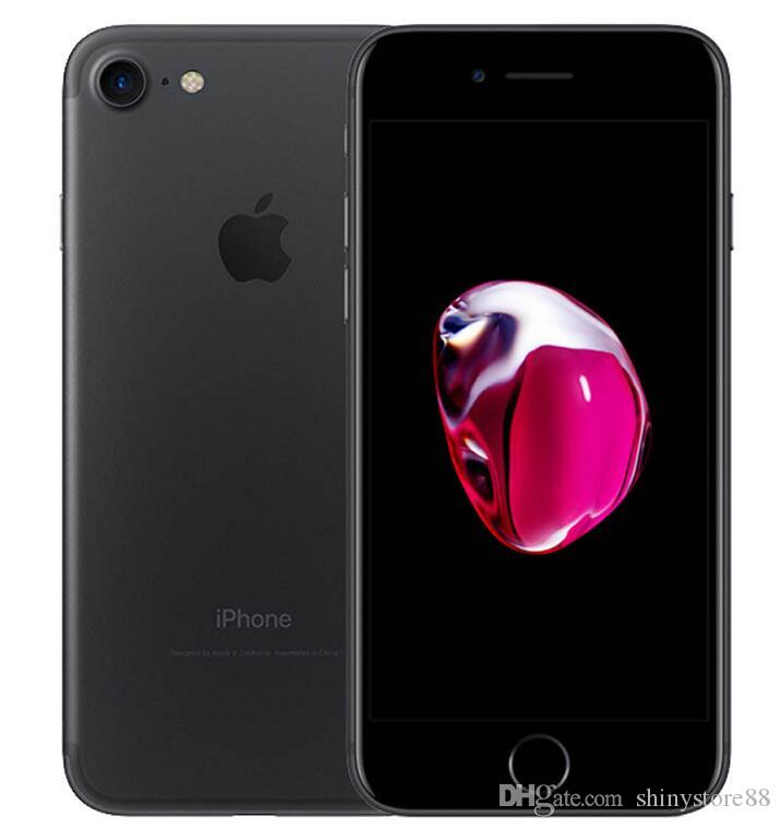 Original Apple iphone 7 7 Plus no touch id 32GB/128GB/256GB ios12 Quad Core 12.0MP Refurbished Unlocked Phones