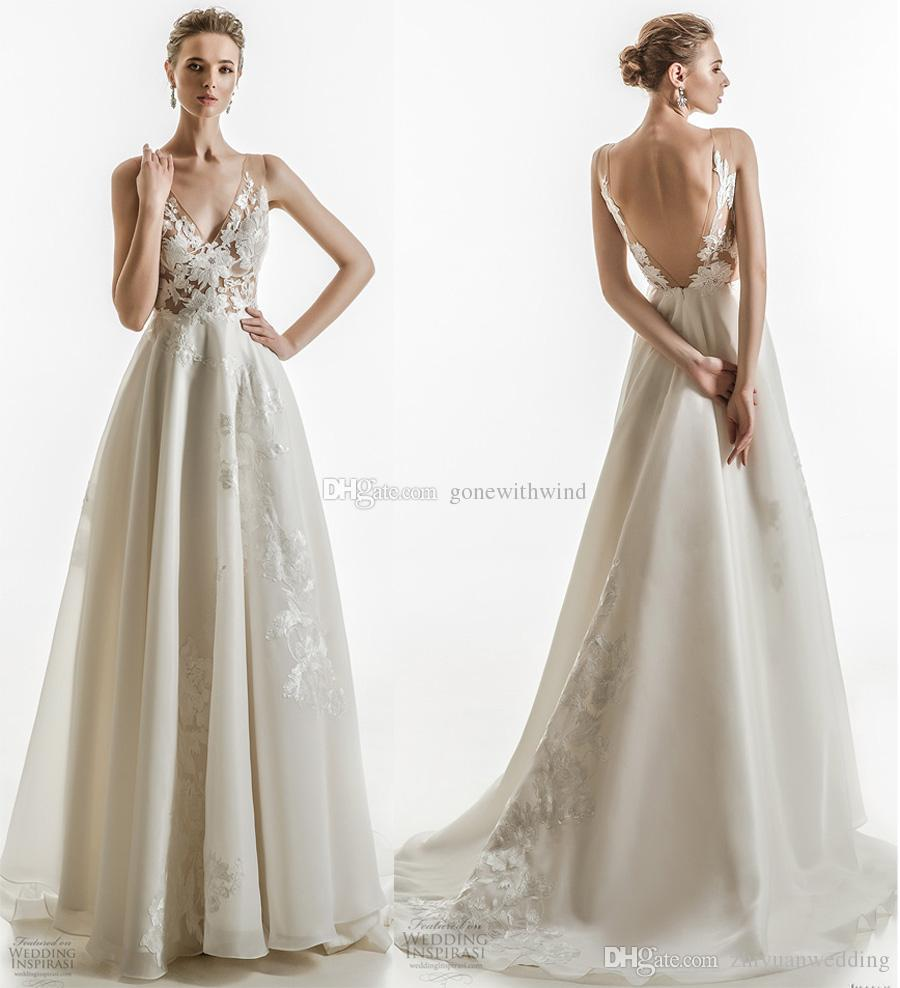 2016 Winter Elie Saab Vine Plus Size Wedding Dresses