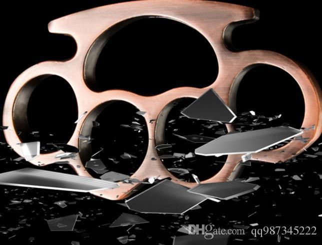Doigt unisexe 4 couleurs REVOLVER RAINBOW TITANIUM BRASS KNUCKLE DUSTERS Anneau vendu vêtement de protection