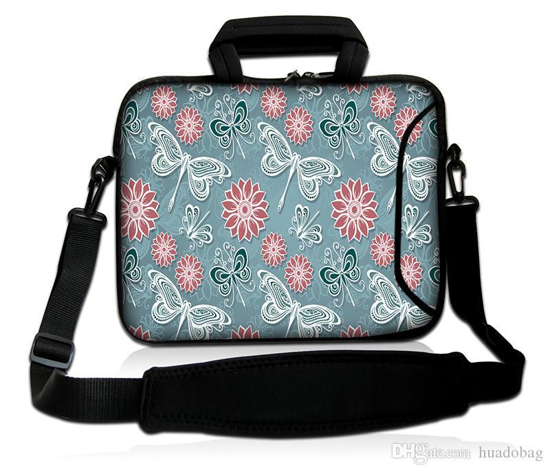 HUADO Neoprene Laptop Bag Computer Bag With Shoulder Straps 15 Notebook Bag  For Hp UK 2019 From Huadobag 2840161f43e