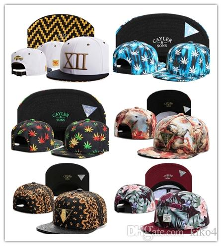 2017 HOT! Biggie Cayler & Sons snapback beanies Hip-Hop cotton adjustable hats basball fitted caps football mix order free shipping ems dhl