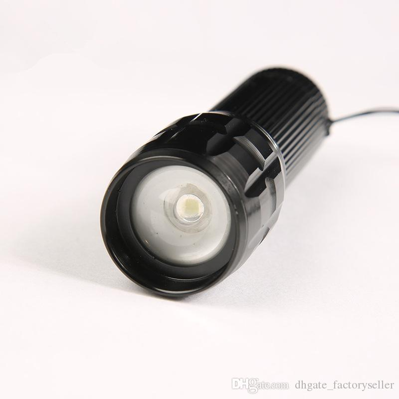by DHL or EMS LED flashlight High Power 2000 Lumens penlight lantern torch light