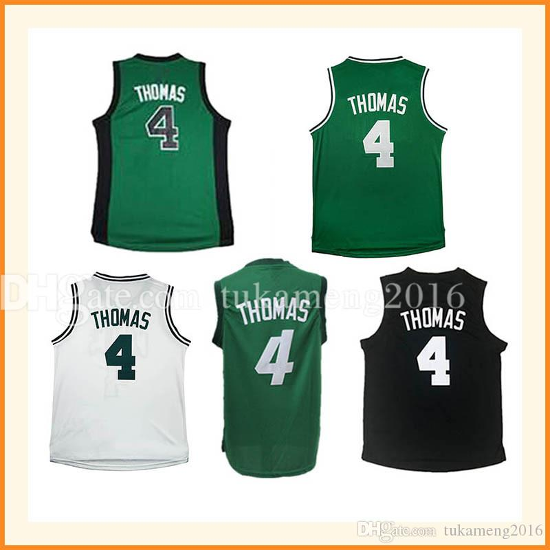 2cc1a0f3f7e4 ... 2018 stitched mens 4 isaiah thomas basketball jerseys black green adult  embroidery thomas jersey top