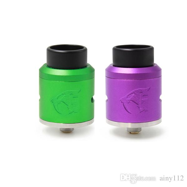 Newest 528 Custom Goon V1.5 RDA Atomizers clone Alumunium 24mm with Cyclops Airflow for 510 Thread Vape Mods DHL free