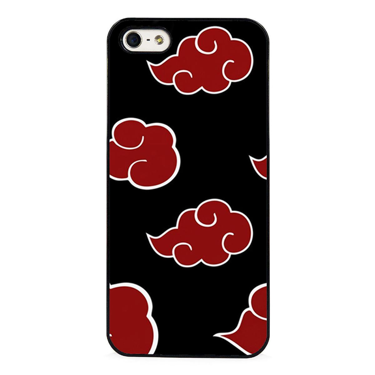 naruto akatsuki clan cloud phone cases for iphone 6 6s plus 7 7 plus