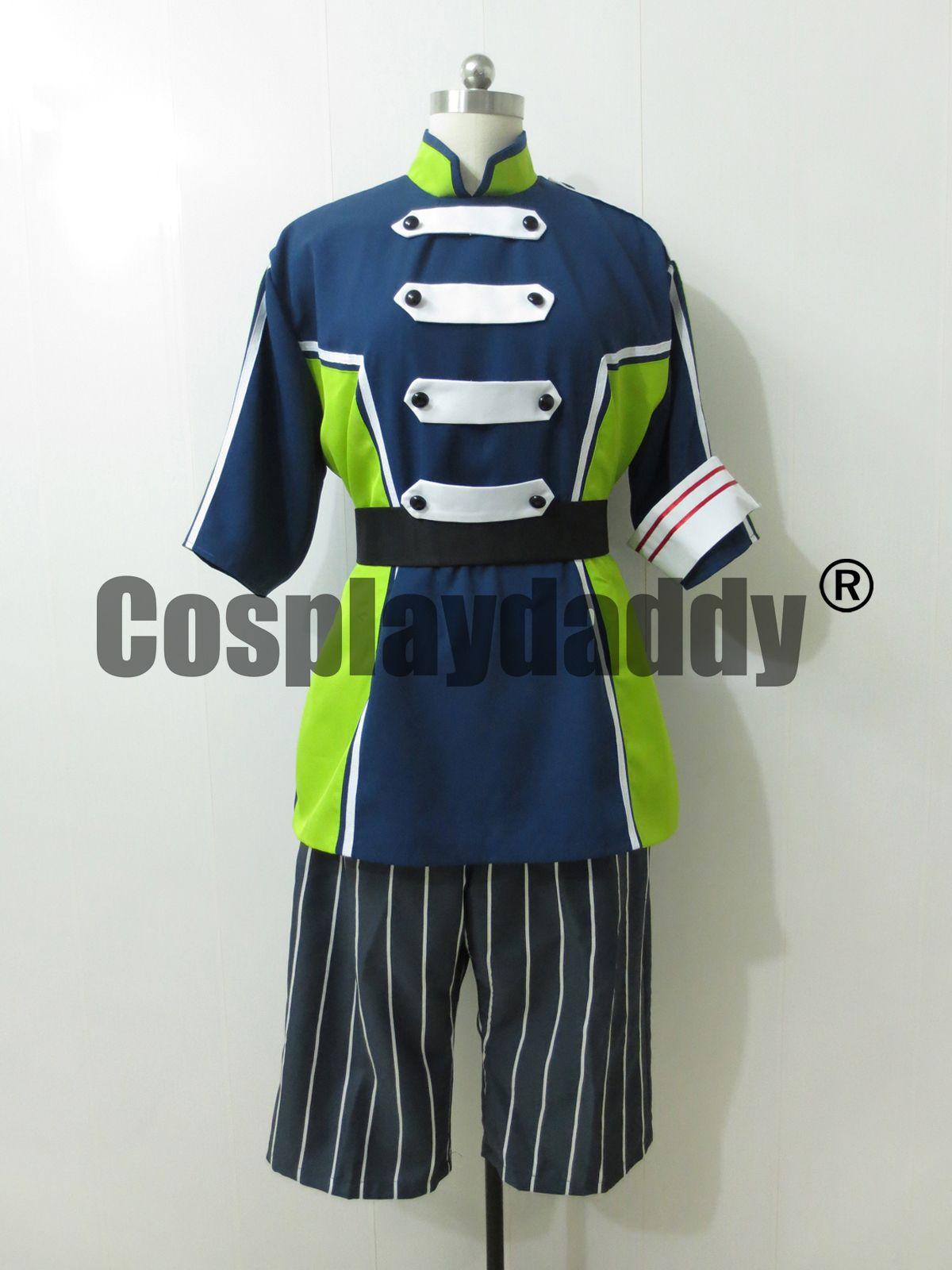 Makai Ouji Devils e Realist Cosplay Camio Uniform Costume H008