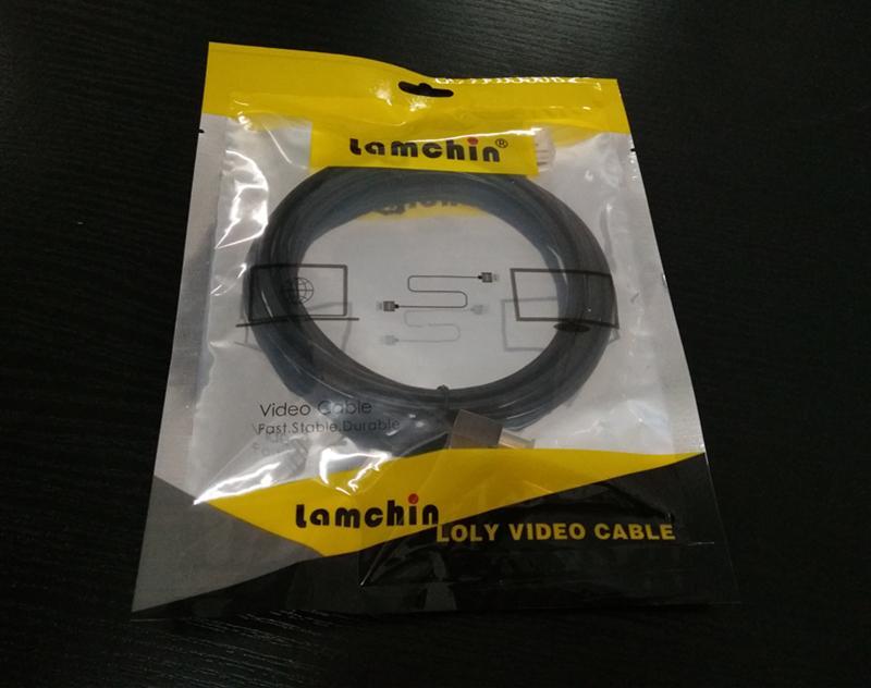 HDMI Kablosu ile 1.5 M 5FT Metal HDMI2.0 Video Kablosu Ethernet için HDTV Xbox PS3 DVD LCD 1080 P Kablosu Perakende Paketi ile