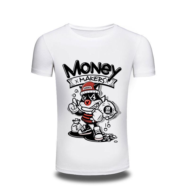 Men'S Clothing 3d T Shirt Mens 2017 Cool Men Funny Monkey Design T ...
