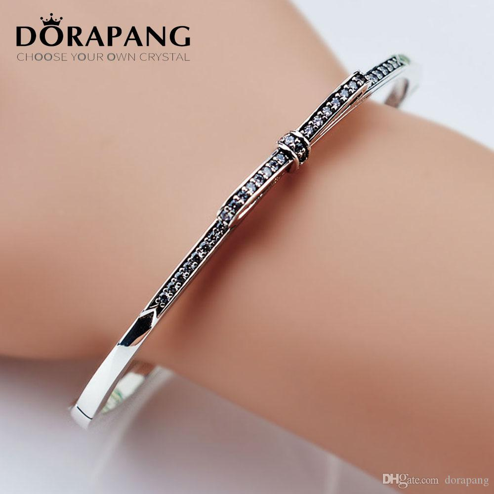 diamond f twt bracelet silver bangles prong e bangle d bracelets ct certified gold in white set