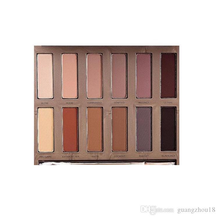 Pronto a spedire! Ultimate Basics All Matte Eyeshadow Lidschatten opaco Farben Matte Eye Shadow 12 palette colori DHL gratuito