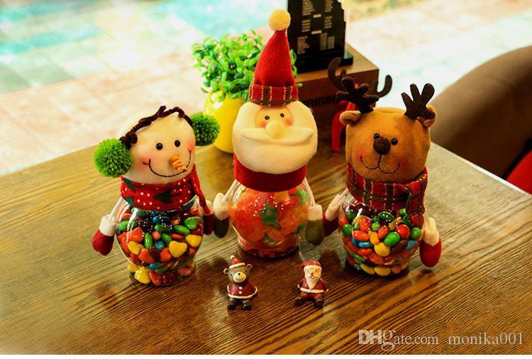 Yılbaşı şeker kavanoz çocuklar küçük hediyeler yılbaşı süsleri