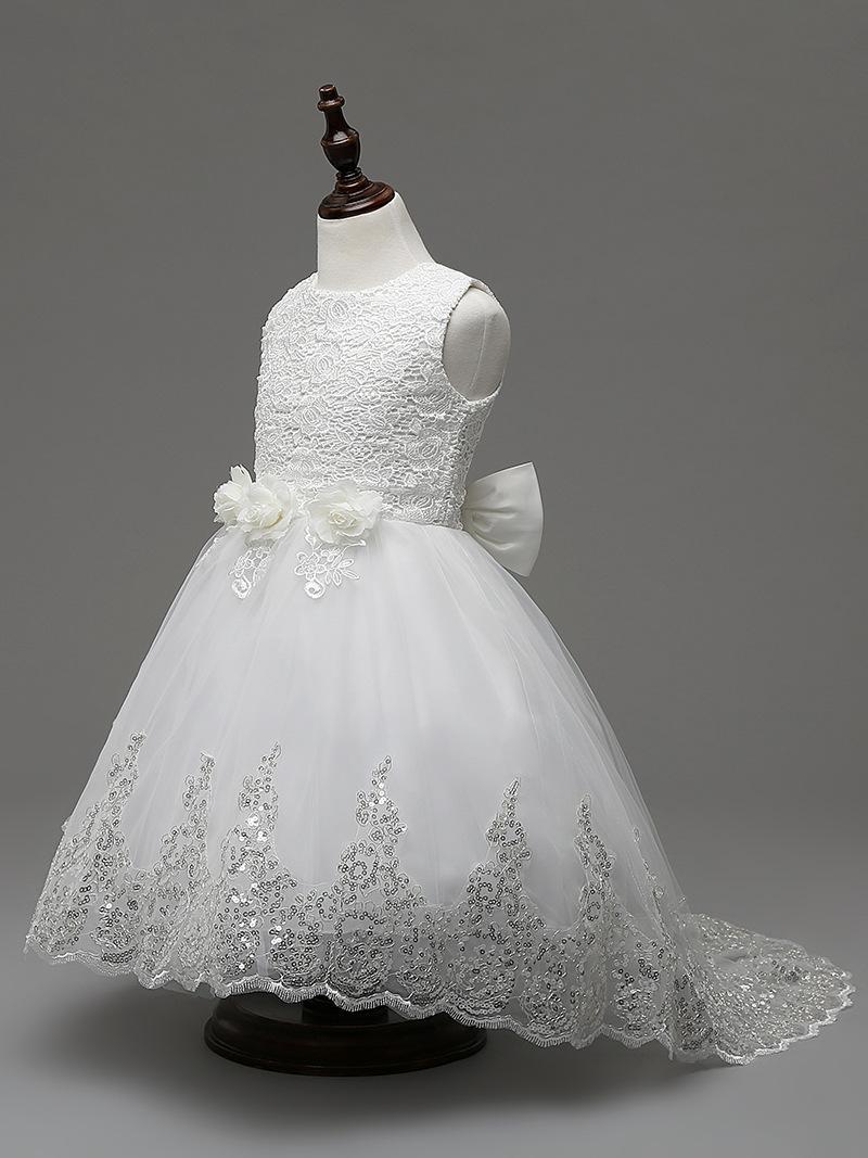 Дети платье вечерние платья для девочек 2017 маленькая подружка невесты кружева крестины пачка платье церемонии дети детская одежда длиной до пола юбки