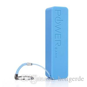 Perfume 2600mAh Portable Power Bank Color mezclado USB externo / Micro USB host batería power bank para samsung S4 / s3 iphone5 / 4 con caja