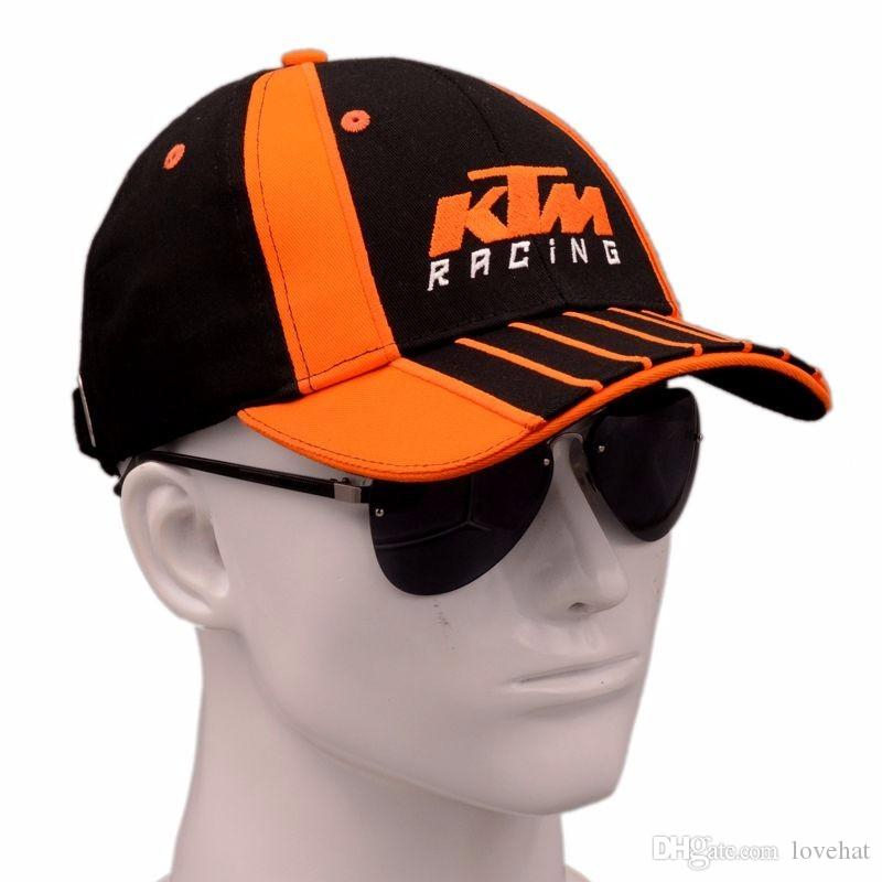 Wholesale 2017 Latest KTM Racing Cap Motocross Riding Caps Women Men Casual  Adujustable Hat Baseball Leisure Baseball Caps Mens Hats Baseball Cap From  ... 02a0c5a2d5a