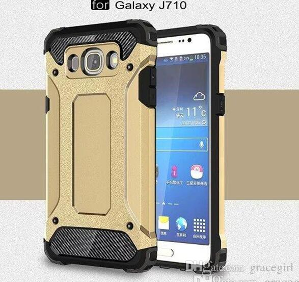 Armor Hybrid TPU PC Hard Case Ballistic Slim ShockProof Wave For Samsung Galaxy J710 J510 J120 2016 J7 J5 J1 Grand Prime G530 skin Luxury