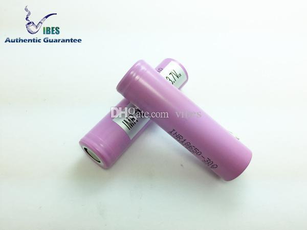 100% Autêntico 18650 Bateria Recarregável Samsung 30Q 3000 mah Alta Célula De Dreno Com Baterias De Lítio MSDS Relatório pk 25R Frete Grátis