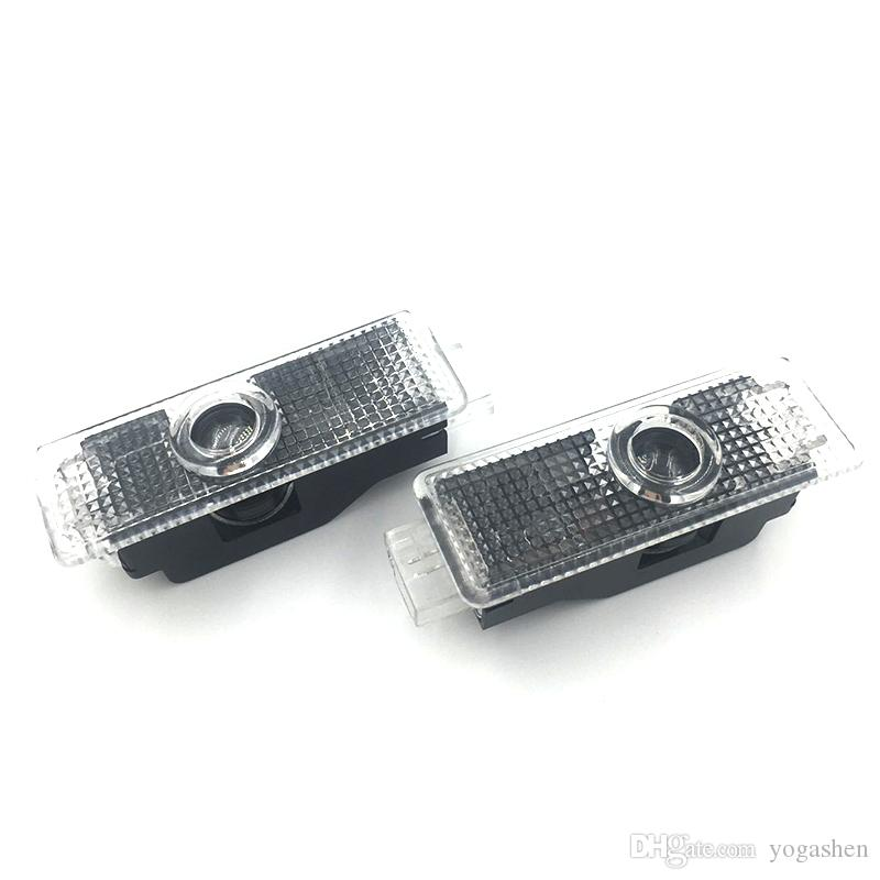 2 x Car Door Welcome Lights M Sport Logo Projector LED For BMW E60 E90 F30 F10 E92 E93 E70 M3 M5 M6 F01 F02 X1 X3 X5 X6