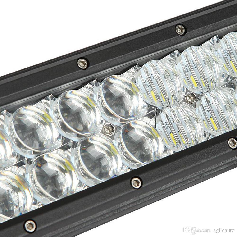 240 W 23 inç Araba LED Worklight Bar 5D 48x CREE Cips Combo Offroad Işık Sürüş Lambası Kamyon SUV 4X4 4WD ATV CLT_41K