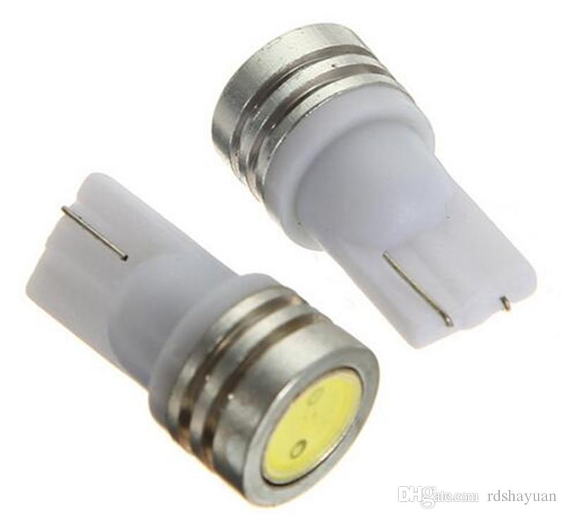 T10 194 168 W5W 1 SMD LED White Car Auto Side Wedge Tail Light Bulb Turn Signal Parking Marker Lamp DC 12V Car Styling