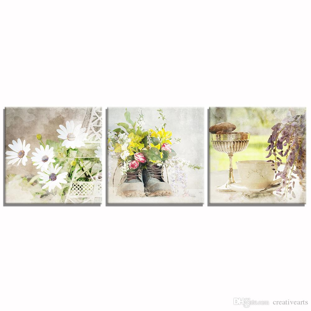 2018 Daisy Flower Picture Canvas Prints Hd Prints On Canvas