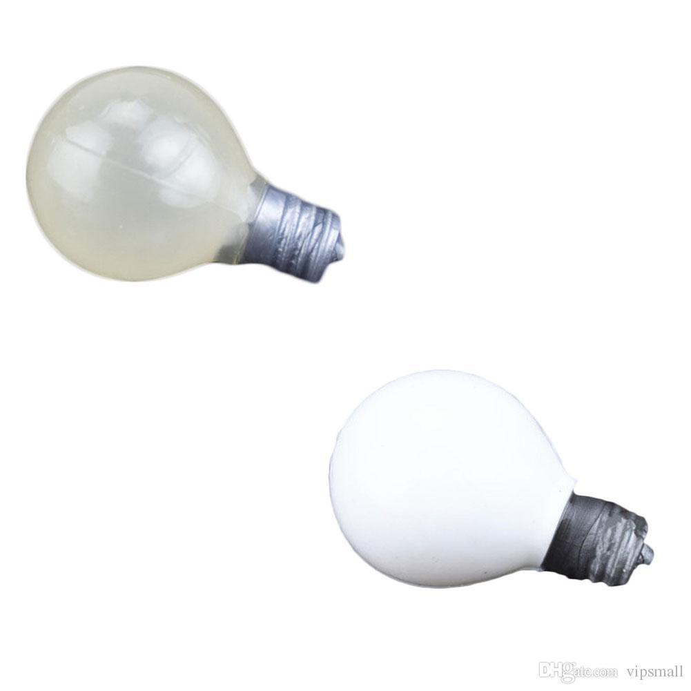 Light Bulb Squeeze Ball Magic Vent Toys Giocattolo antistress giocattolo Squish Ball Light Bulb Lamp Splat Ball Novità Squishies divertenti